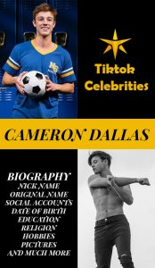 Cameron Dallas banner for pinterest