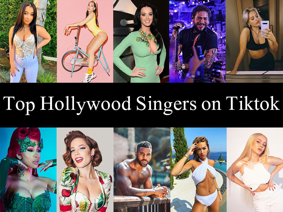 Top Hollywood Singer Tiktokers Accounts Feature Image